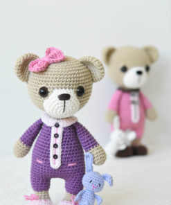 sleepy ida and itsy-biny bunny pattern