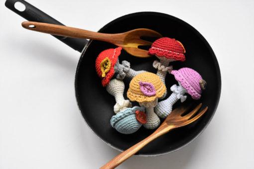 amigurumi mushroom pattern
