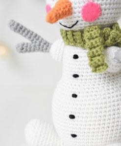 amigurumi õpetus lumememm