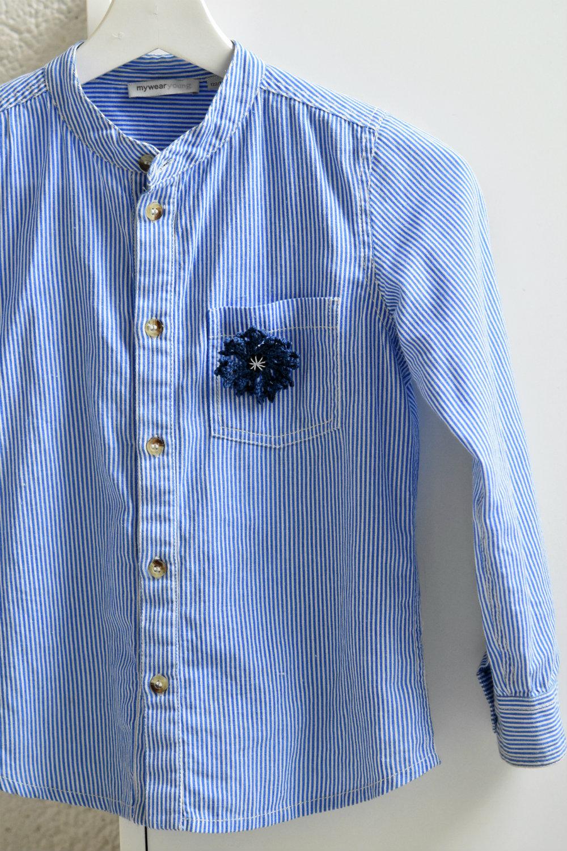 crochet cornflower estonia