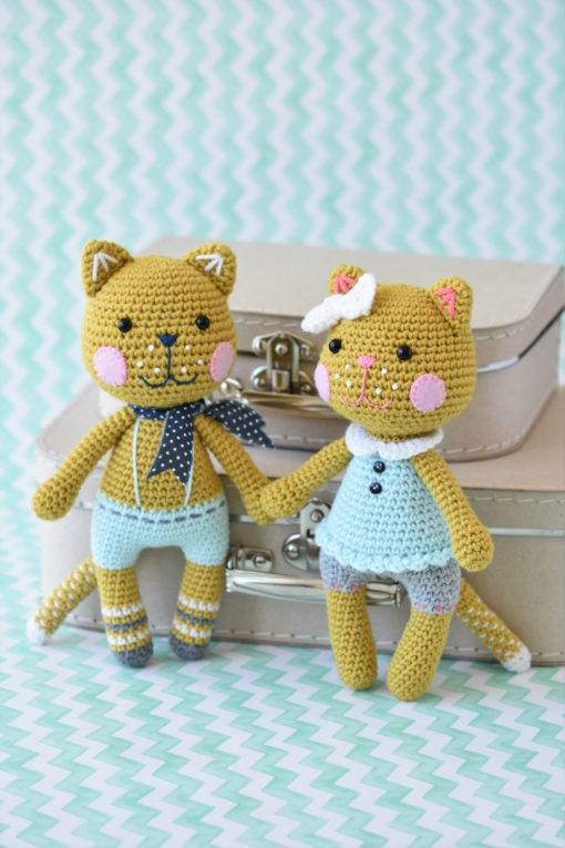 meow cat amigurumi pattern