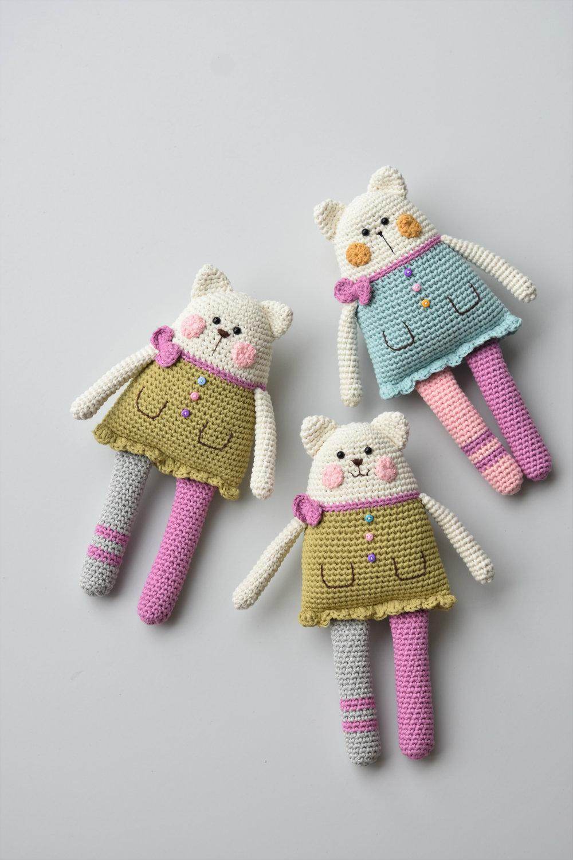Toby the Cat amigurumi pattern - Amigurumi Today | 1500x1000