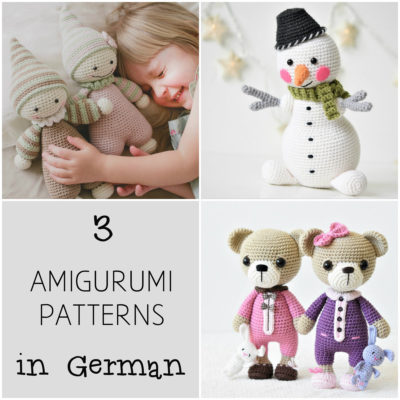 amigurumi patterns in german