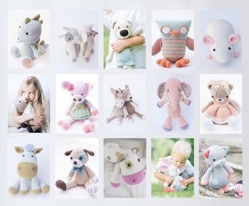 cuddly amigurumi toys