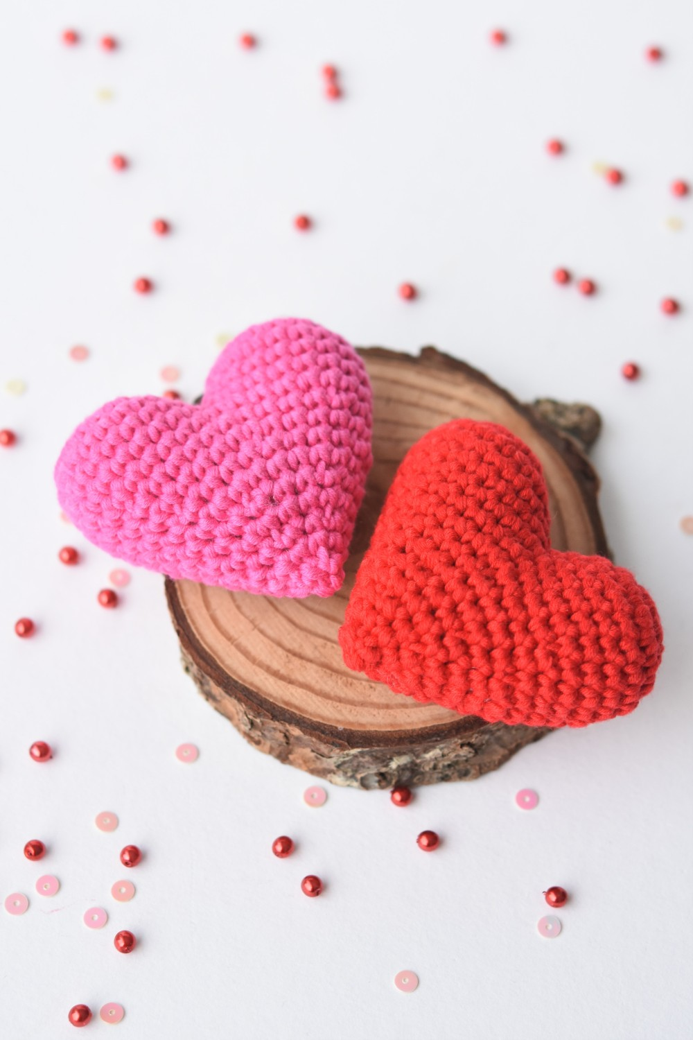 Mini Amigurumi Heart Pattern | Crochet valentine patterns, Crochet ... | 1500x1000
