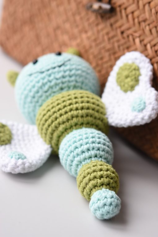butterfly baby rattle