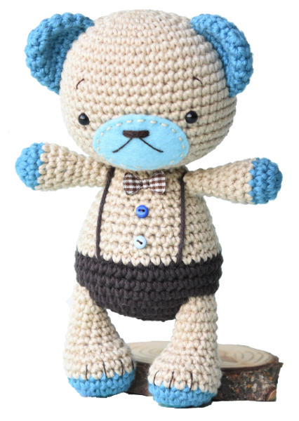 Bear Amigurumi - Boco Bear | Free Crochet Pattern - Craft Passion ... | 600x426