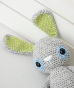 amigurumi crochet bunny face