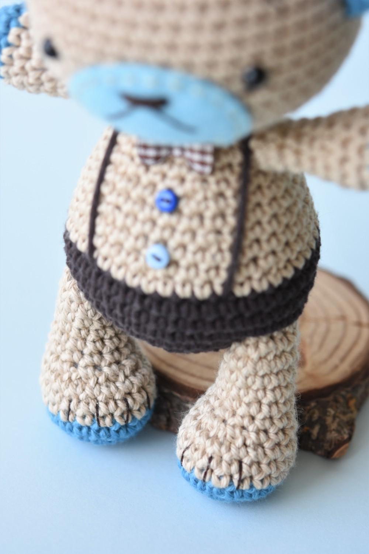 amigurumi teddy bear legs and claws
