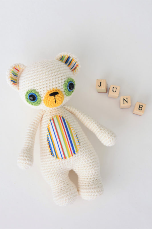 crochet treasure the teddy challenge
