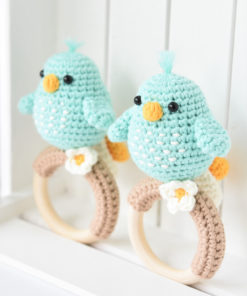 amigurumi pattern bird rattle