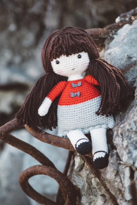 Ragdoll Annie from the book Lovable Amigurumi Toys