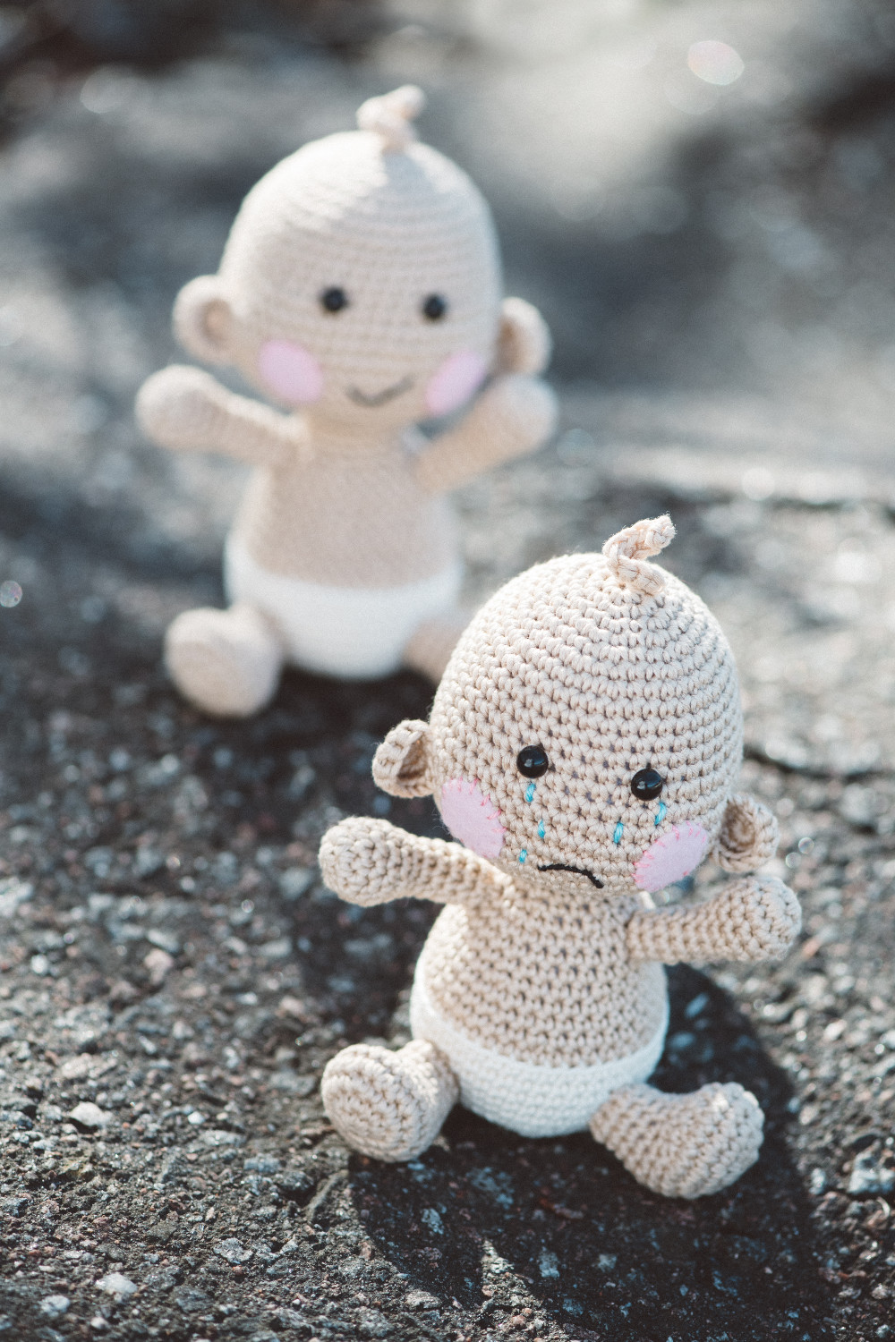 Baby Leo from the book Lovable Amigurumi Toys