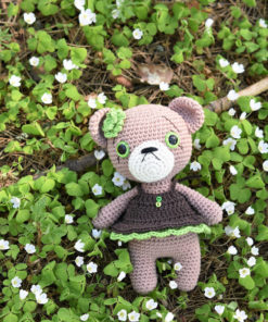 cupcake dress teddy girl amigurumi