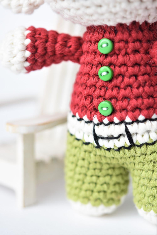 crochet elf clothes