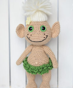 crochet troll doll