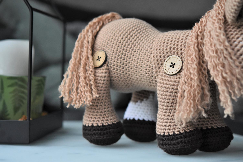 amigurumi poni hobune