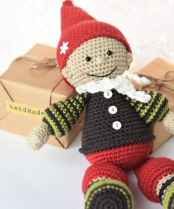christmas gift gnome doll