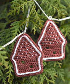 crochet pattern gingerbread house