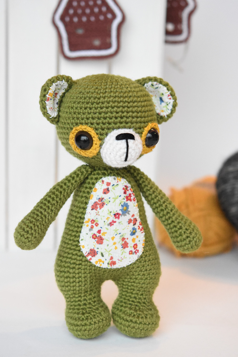 Teddy Bear Crochet Pattern Toys And More | The WHOot | 1500x1000