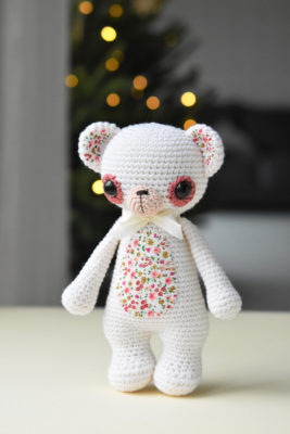 amigurumi classical shaped teddy bear