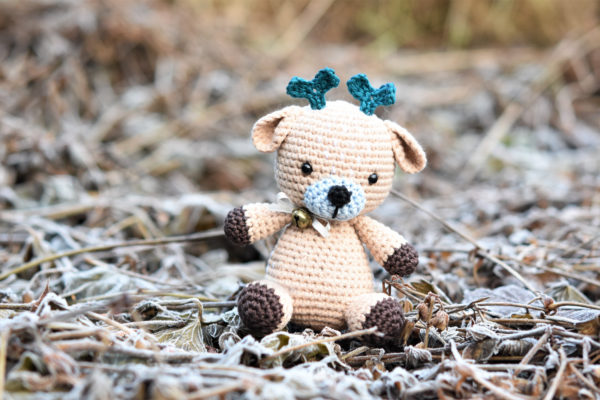 free amigurumi pattern sugarplum the deer