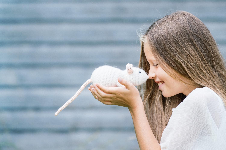 Amigurumi rat pattern from the book Cuddly Amigurumi Toys | lilleliis | 1000x1500