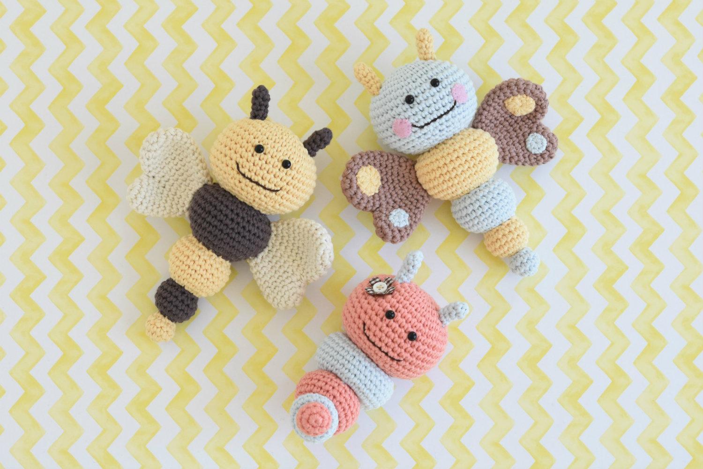 bug rattles amigurumi pattern