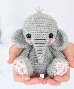 lucy the elephant amigurumi pattern