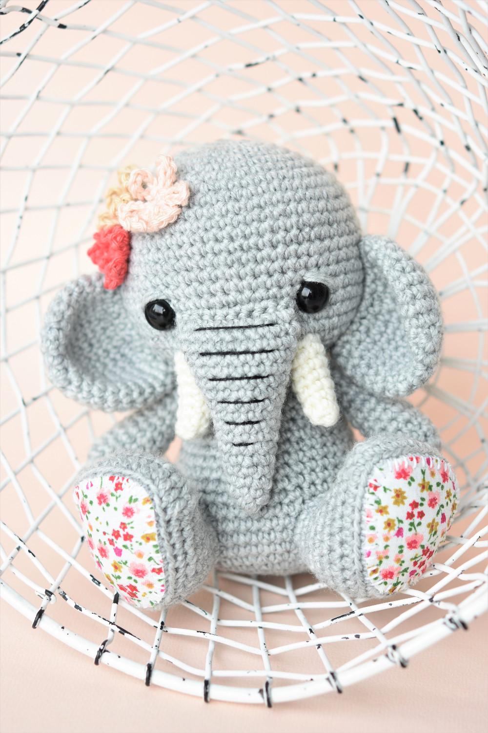 Amigurumi Crochet Elephant Pattern (With images) | Crochet ... | 1500x1000