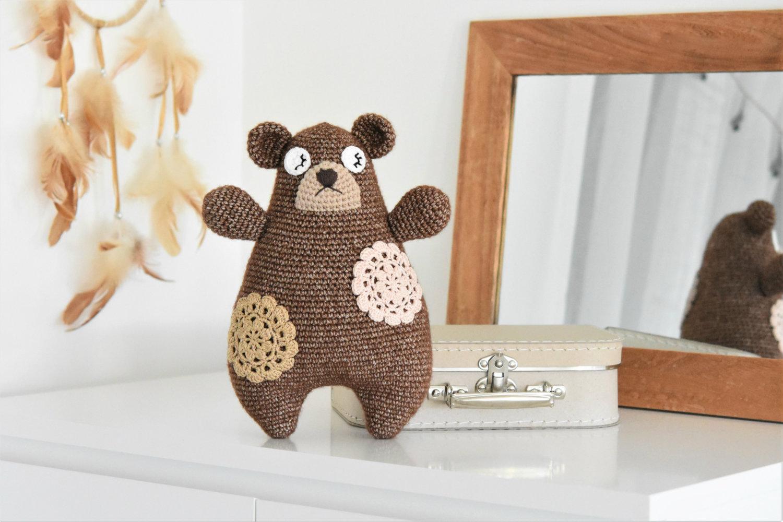 amigurumi pillow bear