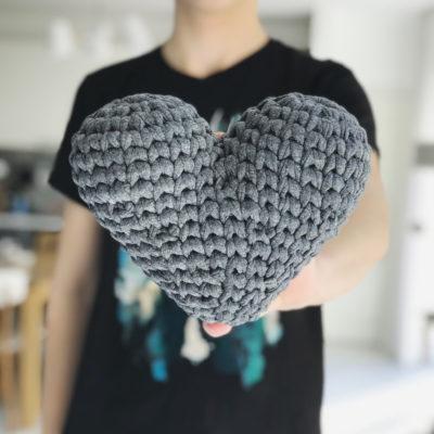 amigurumi heart free pattern