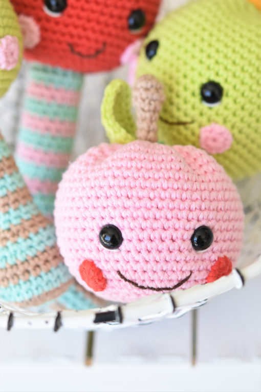 amigurumi apple pattern