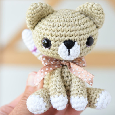 free pattern little amigurumi kitty