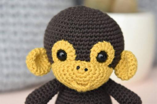 amigurumi pattern mambo the monkey