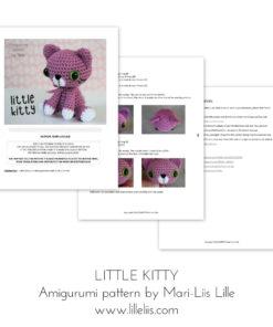 little kitty amigurumi pattern lilleliis