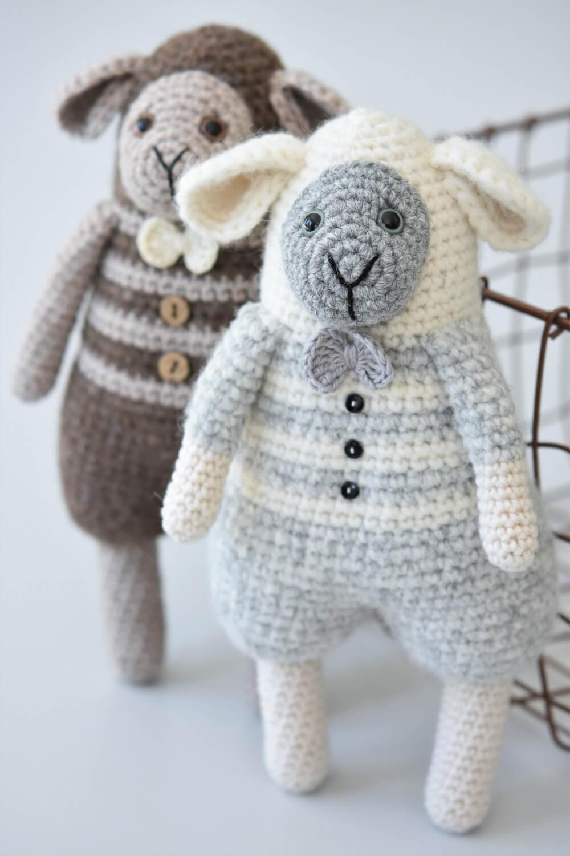 amigurumi fluffy sheep
