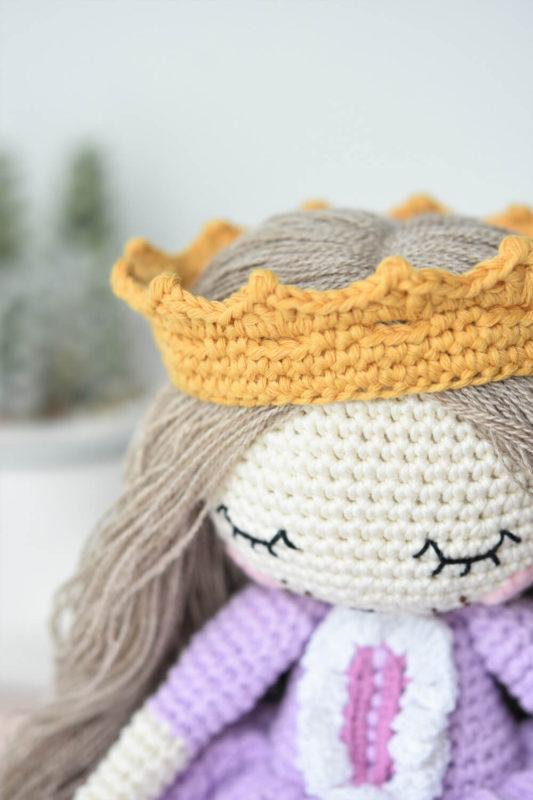 amigurumi princess crown