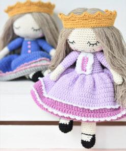 amigurumi ragdoll princess pattern