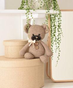 amigurumi smugly bear