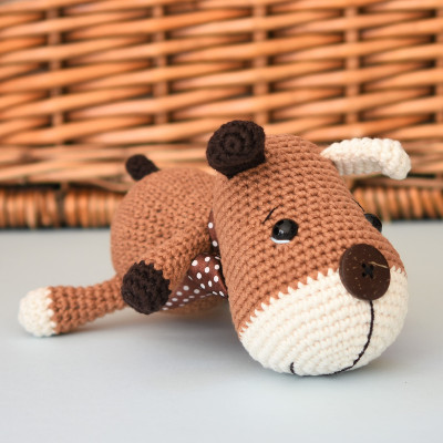 free pattern amigurumi sock puppy