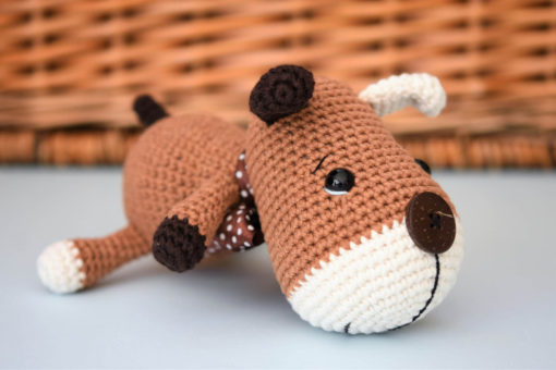 amigurumi sock puppy free pattern