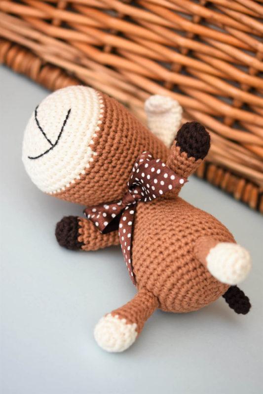 amigurumi sock puppy free pattern