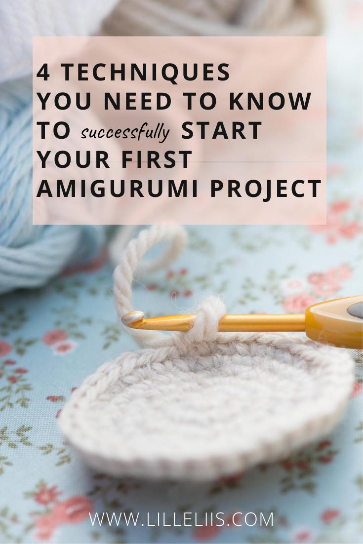 amigurumi techniques for beginners