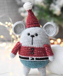 heegeldatud jõuluvana hiir