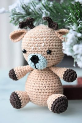free amigurumi patterns deer