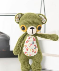 crochet teddy bear toys