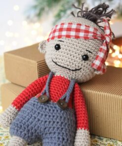 amigurumi doll boy