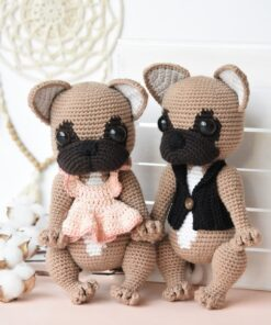 amigurumi french bulldog pattern