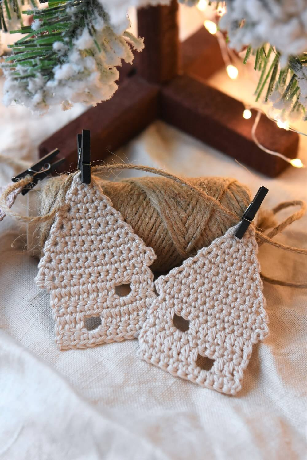 little crochet house motif